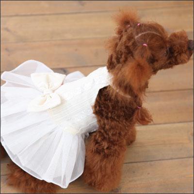 ホワイトお姫様ウェディングドレス