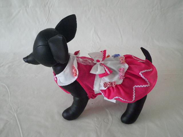 Anny's Dog's ピンクキャンディー・ワンピース 3S , 2S