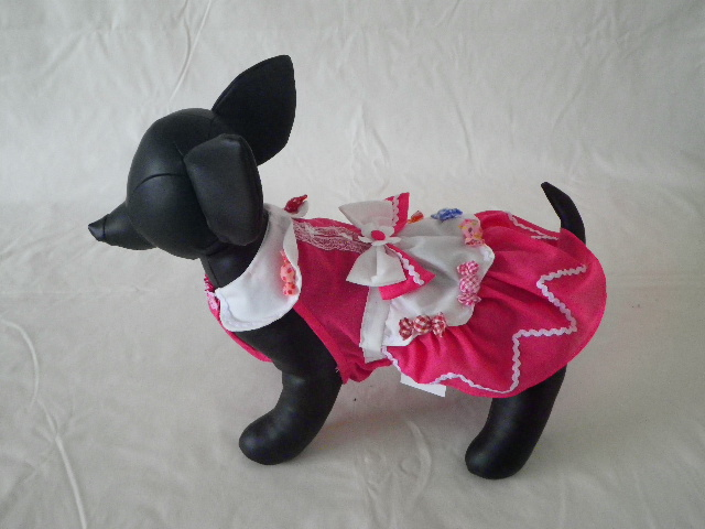 Anny's Dog's ピンクキャンディー・ワンピース M