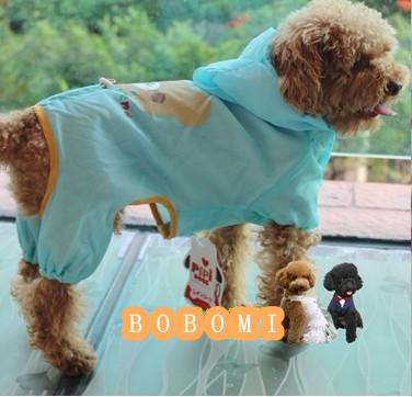 お買得!!★雨の日★かわいい犬のレーンコート★軽い★薄い★
