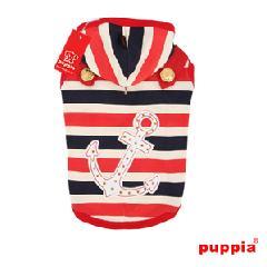 犬の服  OCEAN MIST PUPPIA パピア パーカー(XL)
