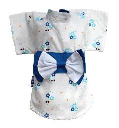 浴衣/ユカタ サクラ ブルー