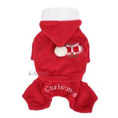 SANTA'S JUMPSUIT puppia-paid-sp562(XL)