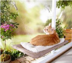 窓に簡単取り付け★キャットハンギングベッド 猫ベッド