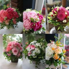季節の花を使ったお任せアレンジメント3850送料無料