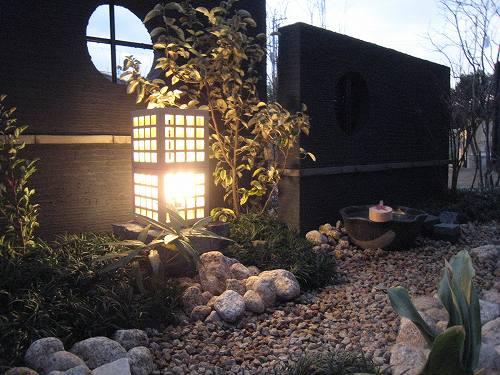 お庭の景色は癒しの空間