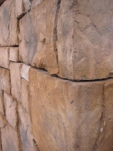 リズミカルな曲線壁