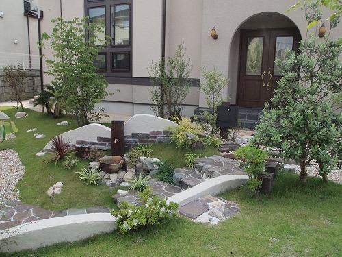 緑いっぱいのお庭