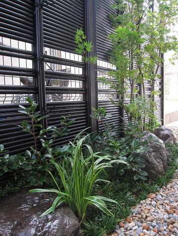 和を描く坪庭