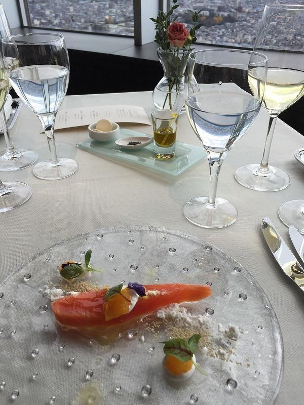 お料理とワイン