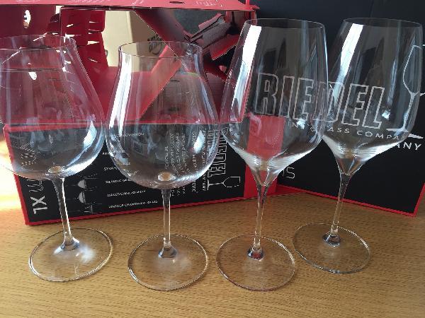 リーデルワイングラス。