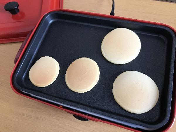 鉄板ホットケーキ