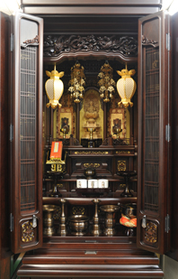 大阪型唐木仏壇