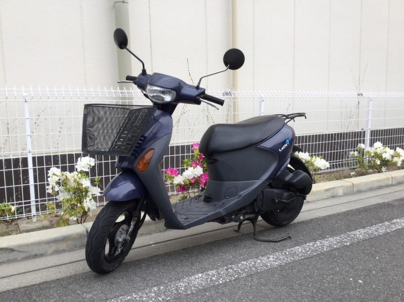 Let's4パレット スズキ 原付 50ccスクーター インジェクター 車体