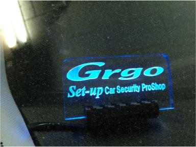 新型オデッセイのGrgo取り付け例