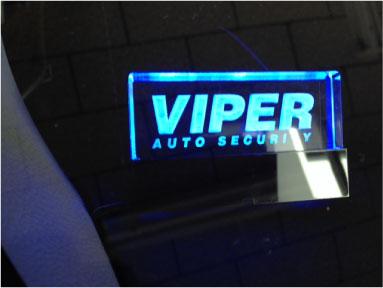 ヴィッツのVIPER取り付け例