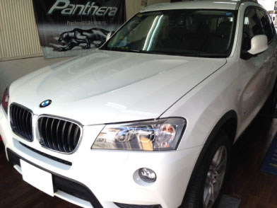BMW X3(F25)のVIPER取り付け例