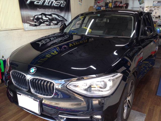 BMW120iの地デジとバックカメラ取り付け例