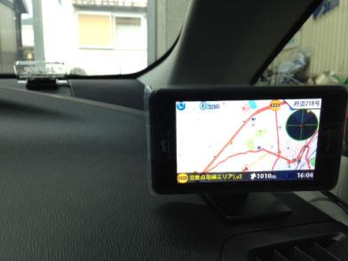 プリウスG'sのレーダー探知機取り付け例