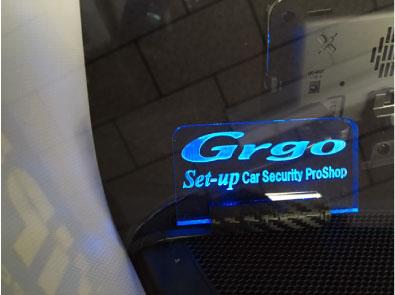CX-5のGrgo取り付け例