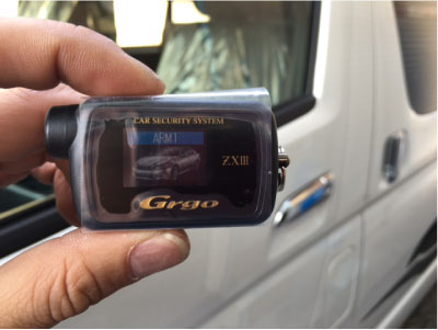 ハイエースのキャンピングカーのGrgo取り付け例