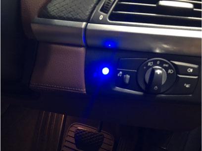 BMW・X6(E71)のGrgo取り付け例