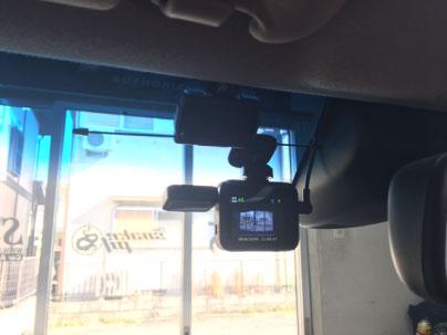 Nワゴンカスタムのドライブレコーダー取り付け例
