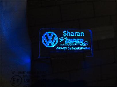 VWシャランのVIPER取り付け例