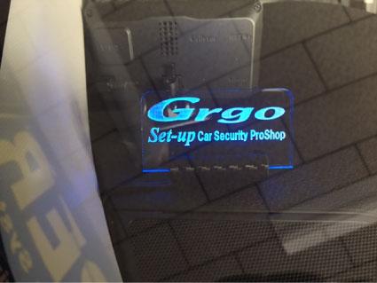 ヴェゼルHYBRIDのGrgo取り付け例