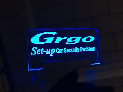 スカイラインクロスオーバーのGrgo取り付け例