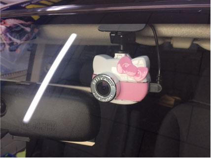 フリードのドライブレコーダー取り付け例