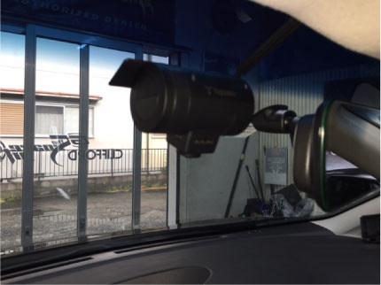 エルグランドのドライブレコーダー取り付け例