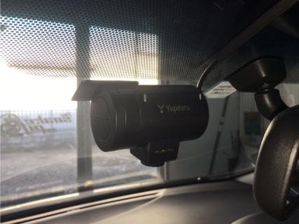アルファードの360°カメラ搭載ドライブレコーダーS10取り付け例