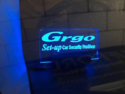 ハイエースキャンピング仕様車のGrgo取り付け例