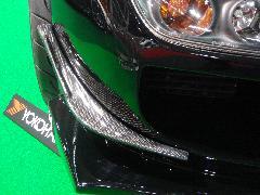 G−FACE フロントバンパーカナード FRP製