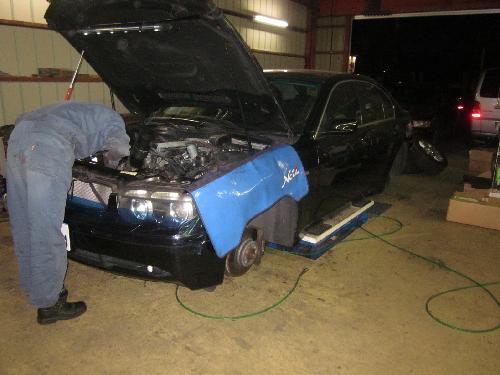 BMW E65 745i ブレーキ故障&オイル漏れ