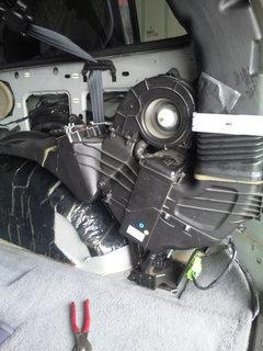 クライスラー ボイジャー エアコン修理