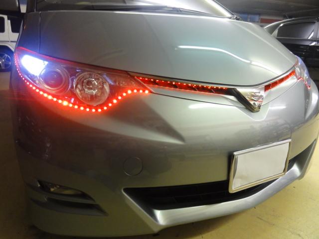 エスティマ LED デイライト トヨタ