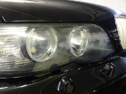 BMW X5 ヘッドライト黄ばみ ヘッドライトリペア 曇り くすみ コーティング 交換 埼玉県 東京都 千葉県 上尾市 さいたま市 川口市 桶川市 蓮田市 伊奈町