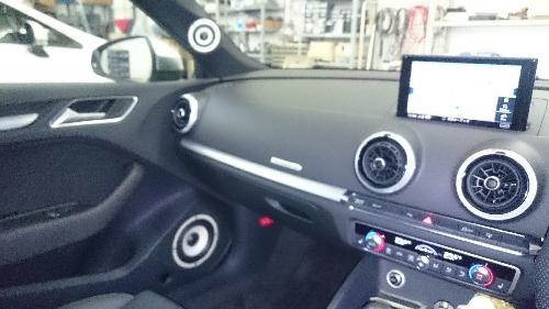 アウディ A4 スピーカー 交換 アウディ A3 スピーカー アウディ S3 スピーカー 交換  アウディ オーディオ交換 スピーカー A3 フォーカル A6 埼玉県 上尾市 東京都 群馬県