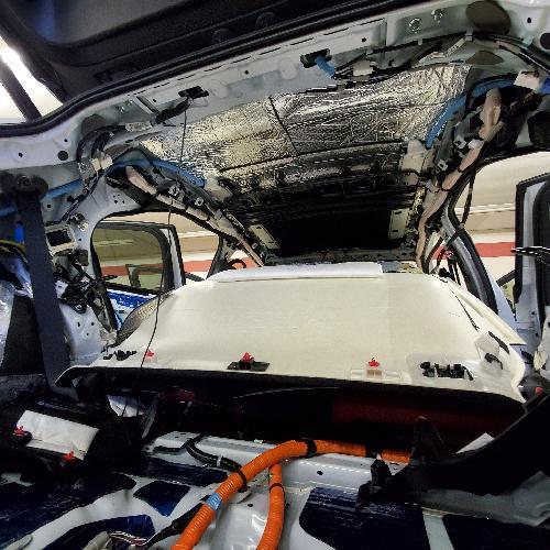 レクサス UX LX RX デットニング 工賃 天井 効果 フルデットニング 車内静音化 ロードノイズ ロードノイズ対策