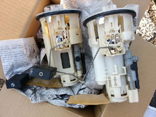 トヨタアルテッツァ外車輸入車燃料ポンプフューエルポンプ交換中古部品持ち込み可能