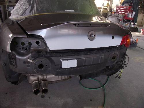 BMW E89 E85 Z4 Z3 Mスポーツ リアバンパー追突事故 交換 バックパネル板金塗装修理 フロントバンパーキズ塗装修理 千葉県 松戸市 柏市 成田市 つくば 大洗 勝浦 印西 鎌田 世田谷 県外からもご来店が多いのです ディーラー指定工場 タキザワ自動車