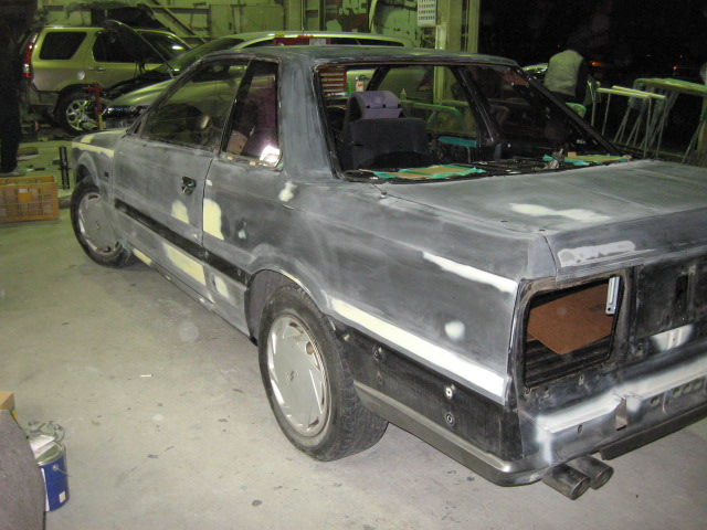 31スカイライン 塗装劣化修理 全塗装 オールペイント