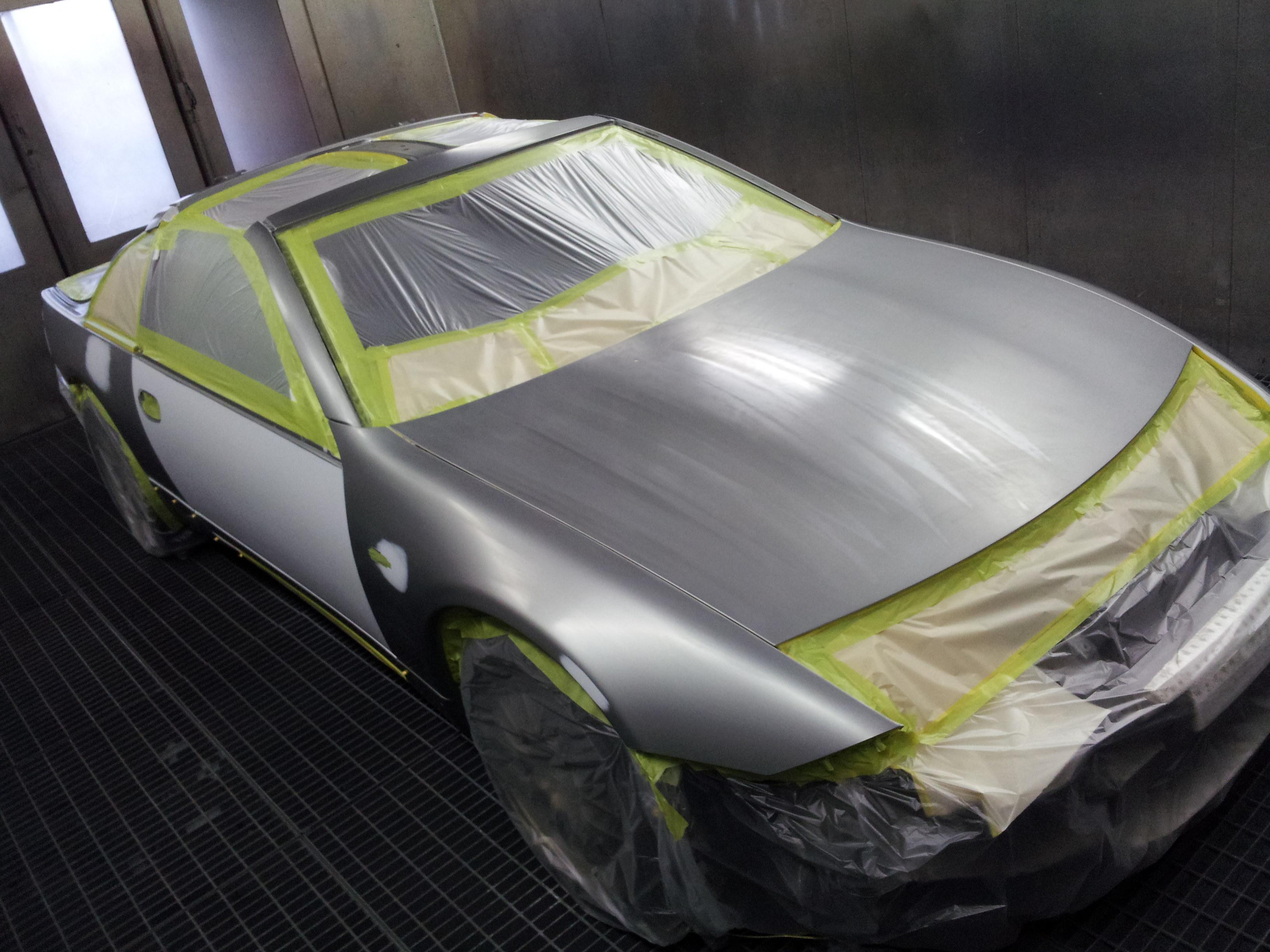Z32 フェアレディZ 全塗装 色替え オールペイント NSXのパールホワイトにしました