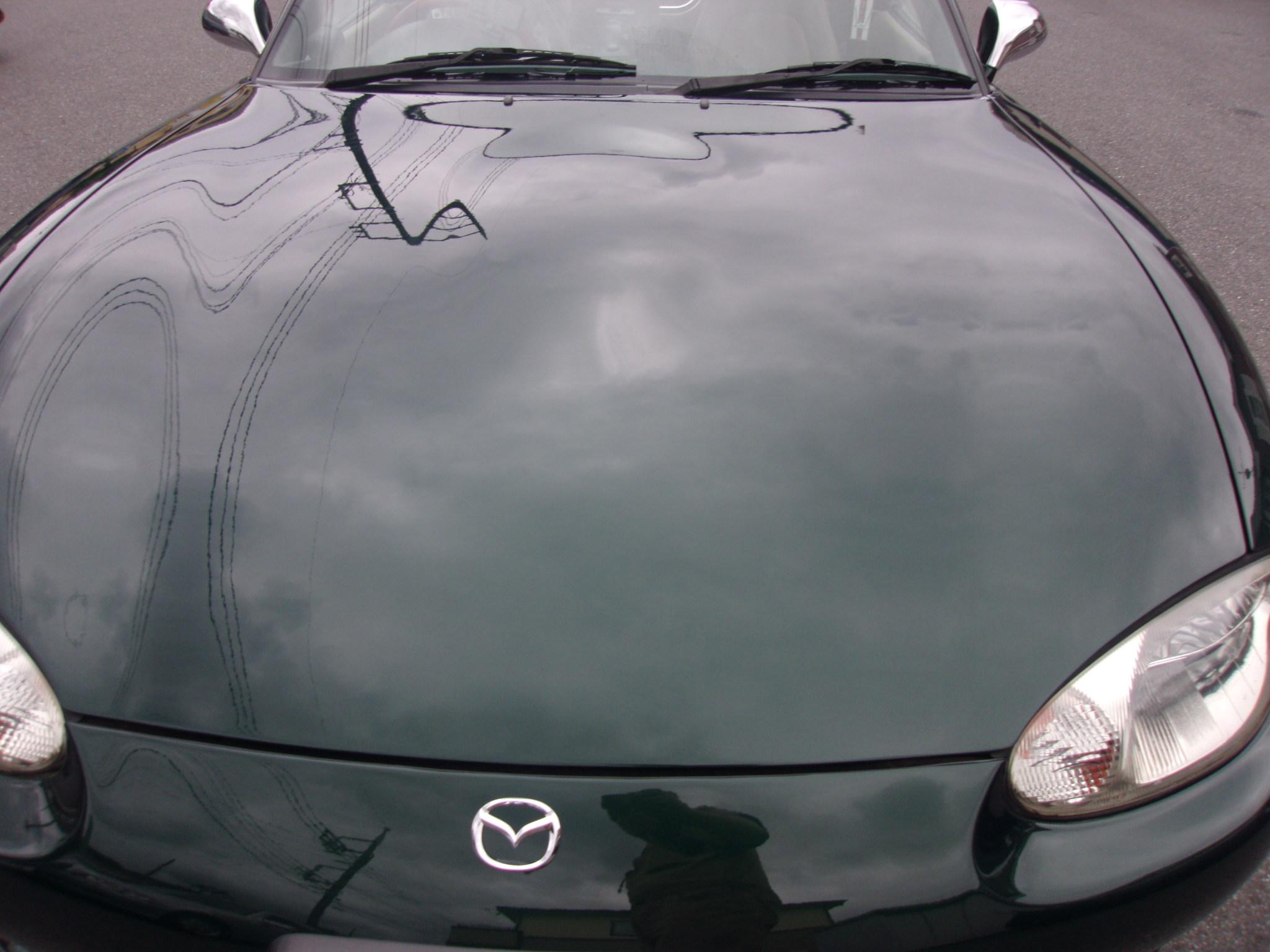 マツダ ロードスター 塗装劣化修理 全塗装 オールペイント 千葉