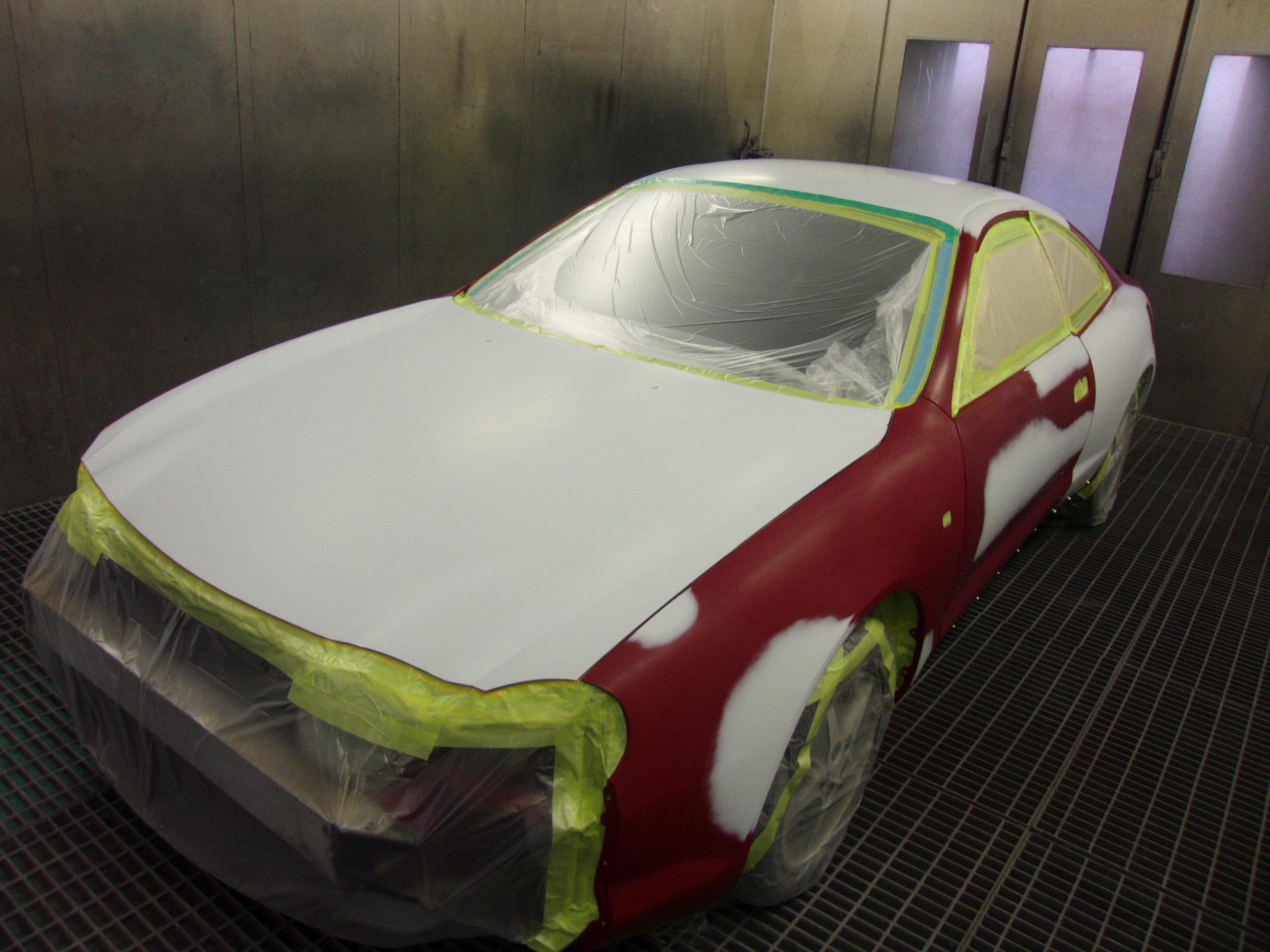 トヨタ セリカ 塗装劣化修理 全塗装 同色 オールペイント 千葉