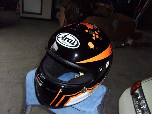カーレース用ヘルメット
