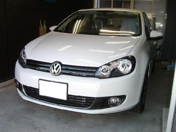 VWゴルフ6★AVIC-MRZ99カーナビ取り付け
