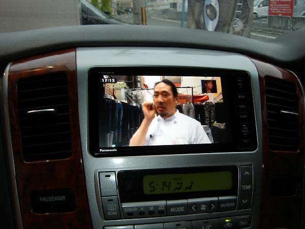 パナソニック・CN-H500WD☆カーナビ取り付け